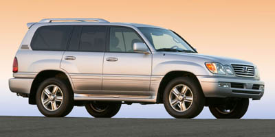 2006 LEXUS LX 470 5-Speed AT 47L 8 Cylinder Eng 5-Speed AT 47L 8 Cylinder Engine Four Wheel