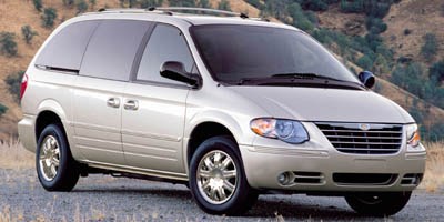 2006 CHRYSLER TOWN  COUNTRY SWB 4-speed at 33l ohv v6 front wheel drive 120 mph speedometer