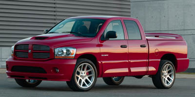 2006 DODGE RAM SRT-10 4-Speed Automatic 83L V10 SFI 4-Speed Automatic 83L V10 SFI Rear Wheel