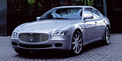 2007 MASERATI QUATTROPORTE 6-Speed AT 42L 8 Cylinder Eng 6-Speed AT 42L 8 Cylinder Engine Re