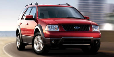 2007 FORD FREESTYLE WAGON SEL FWD Cvt 30l smpi 24-valve v6 duratec Front wheel drive Front buc