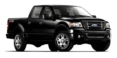 2007 FORD F-150 2WD SUPERCREW 4-Speed AT 46L 8 Cylinder Engine Rear Wheel Drive Driver Adjust