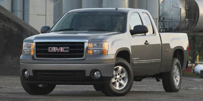 2007 GMC SIERRA 1500 2WD EXT CAB 4-speed at 53l 8 cylinder engine rear wheel drive adjustable
