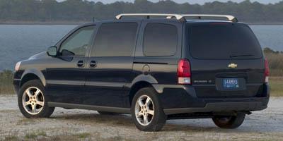 2007 CHEVROLET UPLANDER EXT WB LT 4-Speed AT 39L V6 Cylinder Engine Front Wheel Drive Cruise