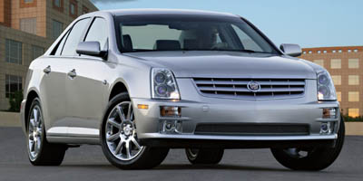 2007 CADILLAC STS 6-Speed AT northstar 46l vari 6-Speed AT northstar 46l variable valve timin