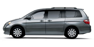 2007 HONDA ODYSSEY 5-Speed AT 35L V6 Cylinder En 5-Speed AT 35L V6 Cylinder Engine Front Whe