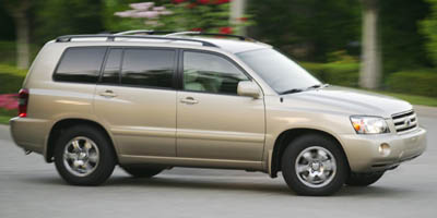 2007 TOYOTA HIGHLANDER 2WD 4-CYL 4-Speed AT 24L 4 Cylinder Engine Front Wheel Drive Bucket Se