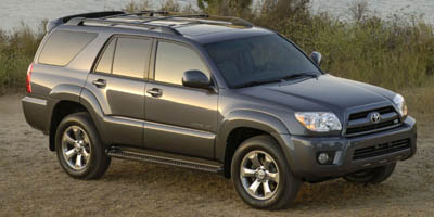 2007 TOYOTA 4RUNNER 5-Speed AT 40L V6 Cylinder En 5-Speed AT 40L V6 Cylinder Engine Rear Whe