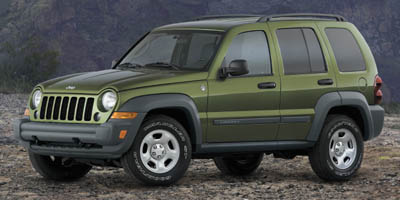 2007 JEEP LIBERTY 37l v6 Command-Trac HD part-ti 37l v6 Command-Trac HD part-time 4WD system 6