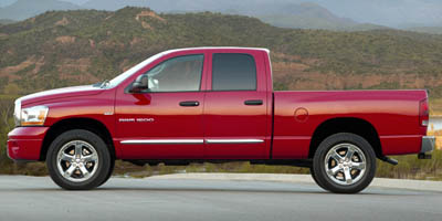 2007 DODGE RAM 1500 2WD QUAD CAB 57L 8 Cylinder Engine Rear Wheel Drive Gasoline Fuel Power St