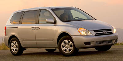 2007 KIA SEDONA AUTOMATIC 5-Speed AT 38L V6 Cylinder Engine Front Wheel Drive Cruise Control