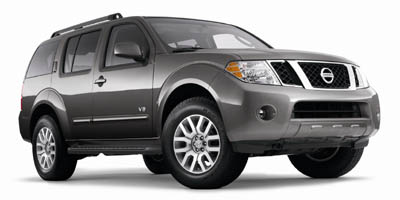 2008 NISSAN PATHFINDER 2WD V8 5-Speed AT 56L 8 Cylinder Engine Rear Wheel Drive Cruise Contro