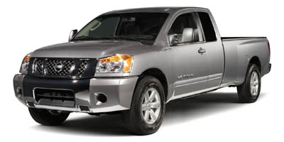 2008 NISSAN TITAN 5-Speed AT 56L 8 Cylinder Eng 5-Speed AT 56L 8 Cylinder Engine Rear Wheel