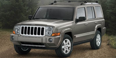 2008 JEEP COMMANDER RWD LIMITED 5-Speed AT 47L 8 Cylinder Engine Rear Wheel Drive 3rd Row Sea