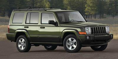 2008 JEEP COMMANDER RWD SPORT 5-Speed AT 37l v6 STD Rear wheel drive 8-way pwr driver seat