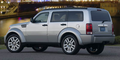 2008 DODGE NITRO 4WD SLT 4-Speed AT 37L V6 Cylinder Engine Four Wheel Drive Auto-Dimming Rear