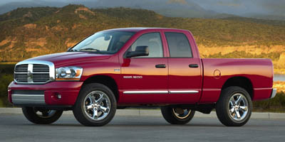 2008 DODGE RAM 1500 4.7L V8, REAR WHEEL DRIVE, A/C,