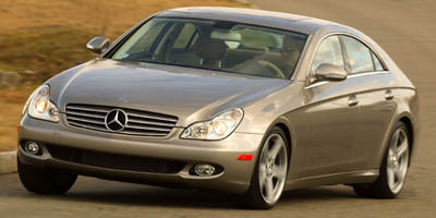 Picture of a 2008 Mercedes-Benz CLS550 Coupe