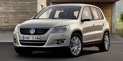 2009 VOLKSWAGEN TIGUAN FWD 6-Speed AT 20L 4 Cylinder Engine Front Wheel Drive Cruise Control