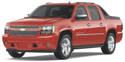 2009 CHEVROLET AVALANCHE 6-Speed AT Vortec 53L V8 SFI 6-Speed AT Vortec 53L V8 SFI Flex Fuel