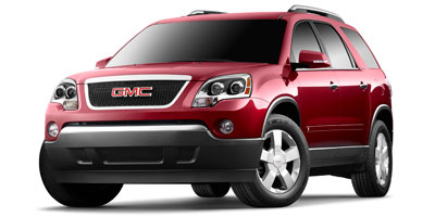 2009 GMC ACADIA FWD 36l sidi v6 Front wheel drive Reclining front buckets Seating Seats Cons