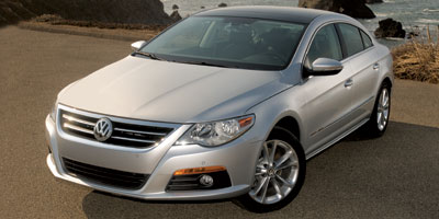 2009 VOLKSWAGEN CC 6-speed at 20l 4 cylinder eng 6-speed at 20l 4 cylinder engine front whee