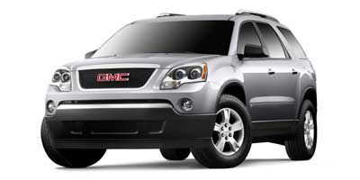 2009 GMC ACADIA FRONT-WHEEL DRIVE SLE 6-Speed AT 36L V6 Cylinder Engine Front Wheel Drive Cru