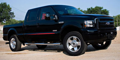 2010 FORD SUPER DUTY F-250 SRW 4WD CREW CAB Automatic 64L 8 Cylinder Engine 4-wheel drive Rear