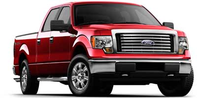 2010 FORD F-150 2WD SUPERCREW 46L 8 Cylinder Engine Rear Wheel Drive Front Reading Lamps Passe
