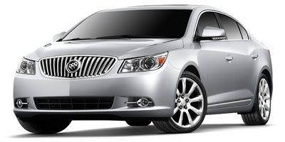 2010 BUICK LACROSSE 6-speed automatic electronicall 6-speed automatic electronically controlled w