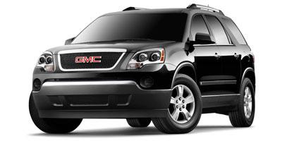 2010 GMC ACADIA FRONT-WHEEL DRIVE SL 6-Speed AT 36l sidi v6 Front wheel drive Reclining front