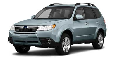 2010 SUBARU FORESTER 4-Speed Automatic with SportShif 4-Speed Automatic with SportShift 25L H4 SO