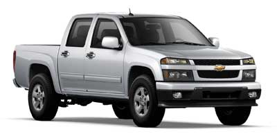 2010 CHEVROLET COLORADO CREW CAB 2-WHEEL DRIVE LT 1LT 4-Speed AT 37l dohc 5-cylinder sfi Rear