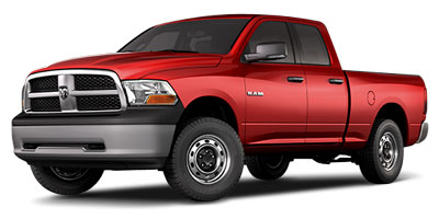 2010 DODGE RAM 1500 5-Speed AT 57L 8 Cylinder Eng 5-Speed AT 57L 8 Cylinder Engine Four Whee