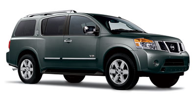 2011 NISSAN ARMADA 5-Speed AT 56L DOHC 32-valve 5-Speed AT 56L DOHC 32-valve Endurance V8 Re