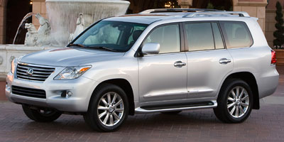 2011 LEXUS LX 570 6-Speed AT 57L DOHC SFI 32-va 6-Speed AT 57L DOHC SFI 32-valve V8 -inc dua