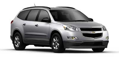 2011 CHEVROLET TRAVERSE FWD LS 6-Speed AT 36L V6 Cylinder Engine Front Wheel Drive 3rd Row Se