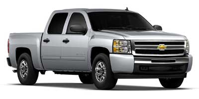 2011 Chevrolet Silverado 1500 Crew Cab Short Box 2-Wheel Drive LS
