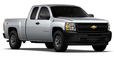 2011 Chevrolet Silverado 1500 Extended Cab Standard Box 4-Wheel Drive Work Truck