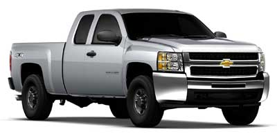 2011 Chevrolet Silverado 2500HD Extended Cab Standard Box 4-Wheel Drive Work Truck