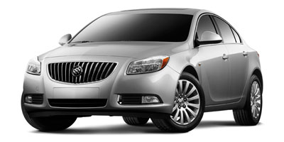 2011 BUICK REGAL CXL RL2 6-Speed Automatic Hydra-Matic Electronically Controlled With OD Include