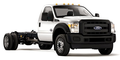 2012 FORD SUPER DUTY F-550 DRW CHASSIS CAB 2WD REGULAR CAB Torqshift 5-Speed Automatic WOD 67L