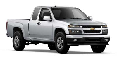 2012 CHEVROLET COLORADO EXTENDED CAB 2-WHEEL DRIVE 1LT 4-Speed Automatic Electronically Controlle