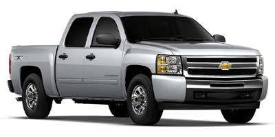 2012 CHEVROLET SILVERADO 1500 CREW CAB SHORT BOX 4-Speed Automatic Electronically Controlled With