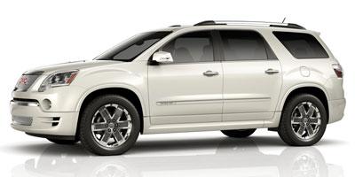 2012 GMC ACADIA FWD DENALI 6-Speed AT 36l sidi v6 Front wheel drive Reclining front buckets