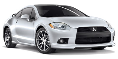 2012 MITSUBISHI ECLIPSE COUPE AUTOMATIC 4-Speed AT 24L 4 Cylinder Engine Front Wheel Drive Cr