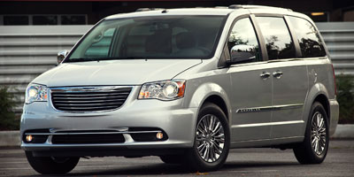 2012 CHRYSLER TOWN  COUNTRY WAGON TOURING 6-Speed AT 36L 24-valve VVT V6 flex fuel Front whee
