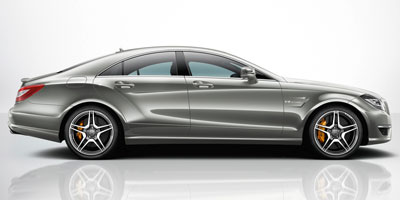 2012 MERCEDES-BENZ CLS63  AMG 7-Speed Driver-Adaptive Electronic Automatic WOD 55L bi-turbo 32-