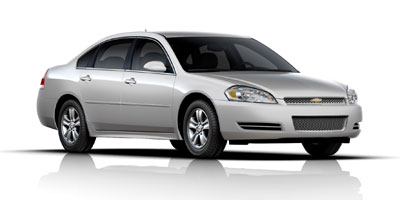 2012 CHEVROLET IMPALA 6-speed automatic electronicall 6-speed automatic electronically controlled