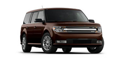 2013 FORD FLEX 6-Speed Selectshift Automatic W 6-Speed Selectshift Automatic WShifter-Button Acti